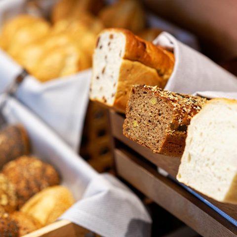Frühstücksbuffet - Auswahl Brotware